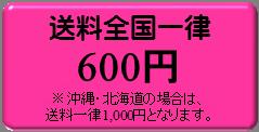 送料一律600円(沖縄・北海道を除く)